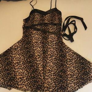 Wet Seal Cheetah Dress